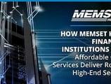 How Memset Keeps Financial Institutions Safe — Affordable Cloud Services Deliver Robust, High-End Security