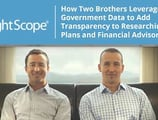 BrightScope — How Two Brothers Leveraged Open Government Data to Add Transparency to Researching 401(k) Plans and Financial Advisors