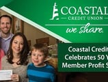 Coastal Credit Union: Embracing a Philanthropic Culture as the Institution Celebrates 50 Years of Member Profit Sharing