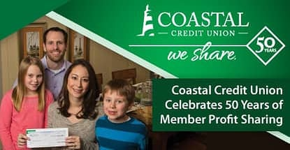 Coastal Credit Union Celebrates Fifty Years