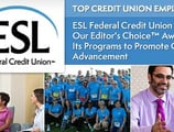 2017's Top Credit Union Employer — ESL Federal Credit Union Earns Our Editor's Choice™ Award for Its Programs to Promote Career Advancement