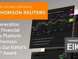 Next-Generation Eikon™ Financial Analysis Platform Earns Thomson Reuters Our Editor's Choice™ Award