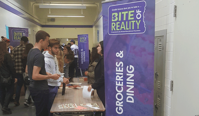 Photo from a Bite of Reality event