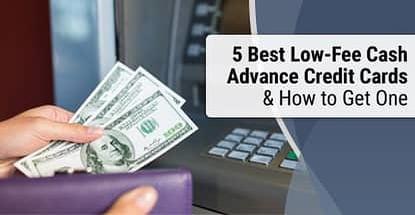 Cash Advance Credit Cards