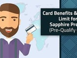 [current_year]'s Chase Sapphire Credit Limit & Benefits: Pre-Qualify Online