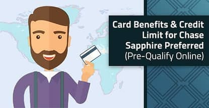 Chase Sapphire Credit Limit And Benefits Pre Qualify Online