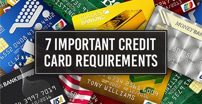 Credit Card Requirements