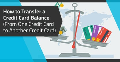 How To Transfer Money From One Credit Card To Another