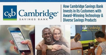 Cambridge Savings Bank Invests In Customers