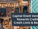 Capital One® Venture® Rewards Credit Card Credit Limit & Benefits