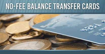 No Balance Transfer Fee Credit Cards