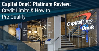 Capital One Platinum Mastercard Credit Limit Pre Qualify Now