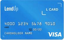 Image of a LendUp L Card