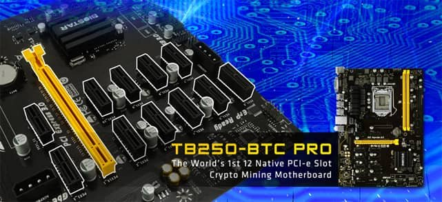Image of TB250-BTC PRO Motherboard