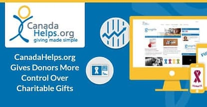 Canadahelps Gives Donors Control Over Their Contributions