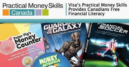 From Games and Comics to Financial Literacy Guides, Visa's Practical Money Skills Program Educates Canadians of All Ages