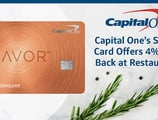 Capital One® Helps Consumers Savor the Dining-Out Experience with Unlimited 4% Cash Back on Restaurant Spending