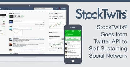 StockTwits® Grows from Twitter API to Self-Sustaining Social Network with 150,000+ Daily Trading News Updates, Tips & Ideas from Like-Minded Investors