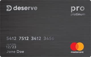 Deserve Pro Credit Card
