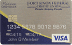 Fort Knox Credit Union Visa Platinum Card