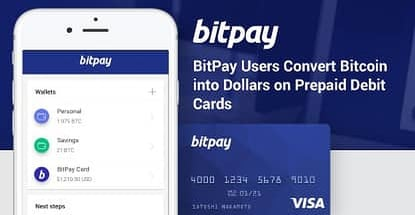 Bitpay Users Convert Bitcoin Into Dollars On Prepaid Debit Cards