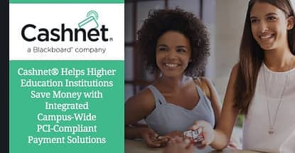 Cashnet Provides Higher Education Payment Solutions