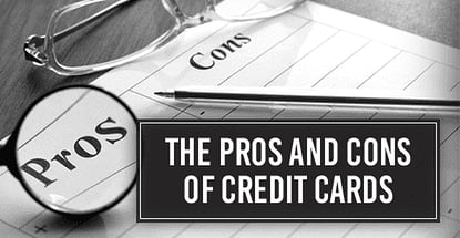 Pros And Cons Of A Credit Card