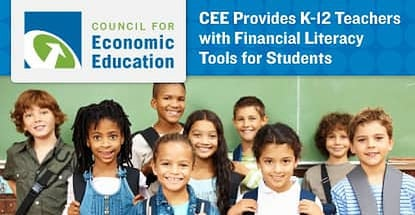The Council for Economic Education Provides Resources to US K-12 Teachers that Aim to Raise Student Financial Literacy