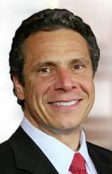 Headshot of NY Governor Andrew Cuomo