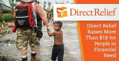 Direct Relief Raises More Than 1b For People In Financial Need