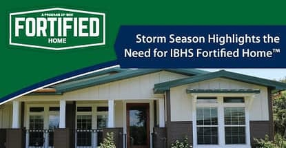 Homeowners Turn to the IBHS Fortified Home™ Program for Solid Structures that Stand Up to Natural Disasters After Record-Setting Storm Season