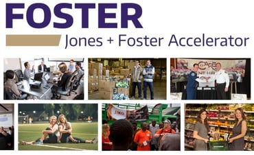 Collage of Jones + Foster Accelerator