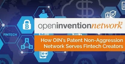 How Oins Patent Non Aggression Network Serves Fintech Creators