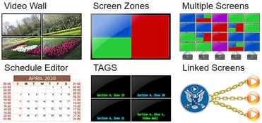 Screenshot of Zoom Commander configurations