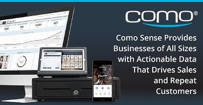 Drive Larger Sales And Repeat Customers With Como Sense