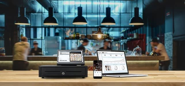 A Photo of the Como Sense Solution in a Business