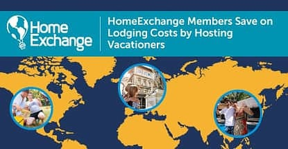 Homeexchange Members Save On Lodging Costs By Hosting Vacationers