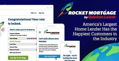Rocket Mortgage by Quicken Loans® — America's Largest Home Lender Has the Happiest Customers in the Industry