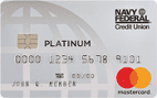Navy Federal Credit Union Platinum Mastercard®