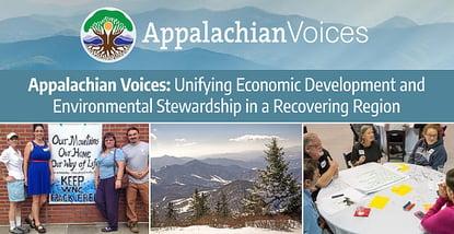 Appalachian Voices Unifies Regional Economic Development