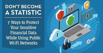 Don't Become a Statistic — 7 Ways to Protect Your Sensitive Financial Data While Using Public Wi-Fi Networks