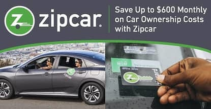 Save Up To 600 Monthly On The Costs Of Car Ownership With Zipcar