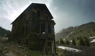 A Photo of Animas Forks, Colorado.