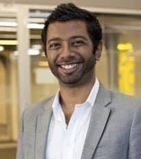 Headshot of Prashan Paramanathan CEO at Chuffed.org