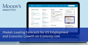 Market-Leading Forecasts for US Employment & Economic Growth on Moody's Analytics Economy.com