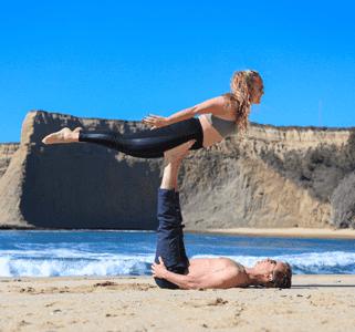 Photo of Kristin Luna and Her Husband in California