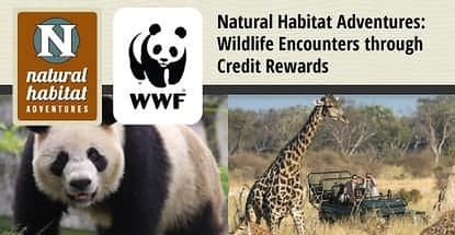 Natural Habitat Adventures Wildlife Encounters Through Credit Rewards