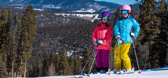 Photo of Children Skiing at Angel Fire Resort