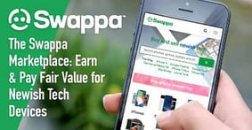 The Swappa User-to-User Marketplace Cuts Out the Middleman to Help Consumers Earn & Pay Fair Value on Newish Tech Devices