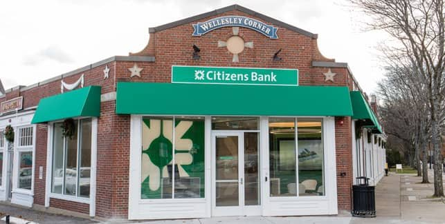 Photo of a Citizens Bank Branch